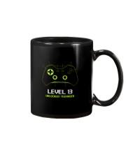 Teenager 13th Birthday design Level 13 Unlocked Mug thumbnail