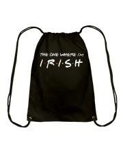 Happy St Patrick's day Drawstring Bag thumbnail