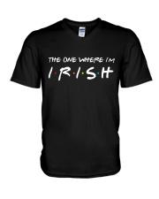 Happy St Patrick's day V-Neck T-Shirt thumbnail