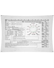 "Music Theory Master Sheet Wall Tapestry - 36"" x 26"" thumbnail"