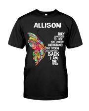 F39-Allison Classic T-Shirt front