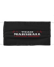 L14-Marshall Cloth face mask front