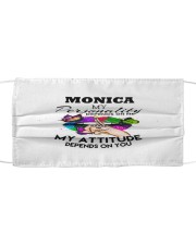 F63-Monica Cloth face mask front