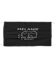 F81-Melanie Cloth face mask front