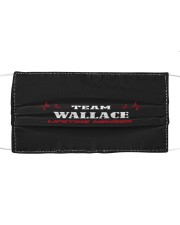 L14-Wallace Cloth face mask front