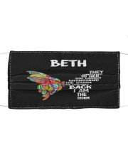 F65-Beth Cloth face mask front