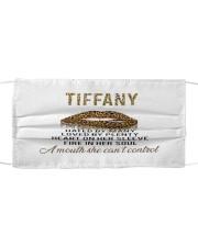 F64-Tiffany Cloth face mask front