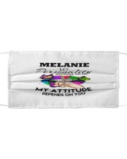F63-Melanie Cloth face mask front
