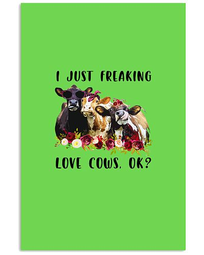 I just freaking love cows ok