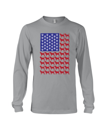 Otterhound American Flag