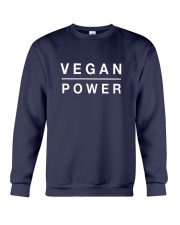 Funny Vegan Power T-shirt Crewneck Sweatshirt thumbnail