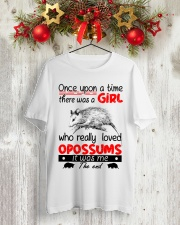 LIMITED TIME NOT FOUND IN STORES Classic T-Shirt lifestyle-holiday-crewneck-front-2