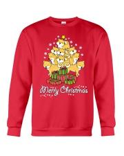 Shiba Xmas Tree Crewneck Sweatshirt front