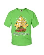 Shiba Xmas Tree Youth T-Shirt thumbnail