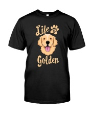 Golden Retriever Classic T-Shirt front