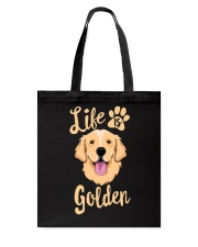 Golden Retriever Tote Bag tile