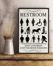 Restroom 24x36 Poster lifestyle-poster-3