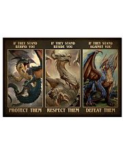 Protect Dragon 17x11 Poster front