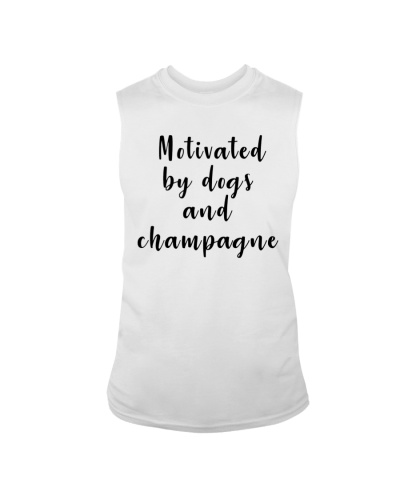 Champagne and dogs