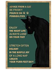 Cat Advice 24x36 Poster front