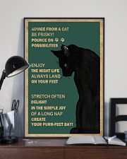 Cat Advice 24x36 Poster lifestyle-poster-2
