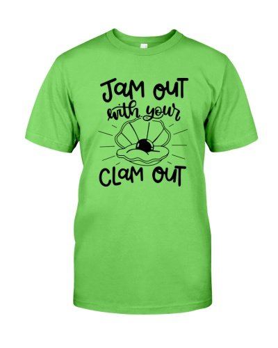clam out