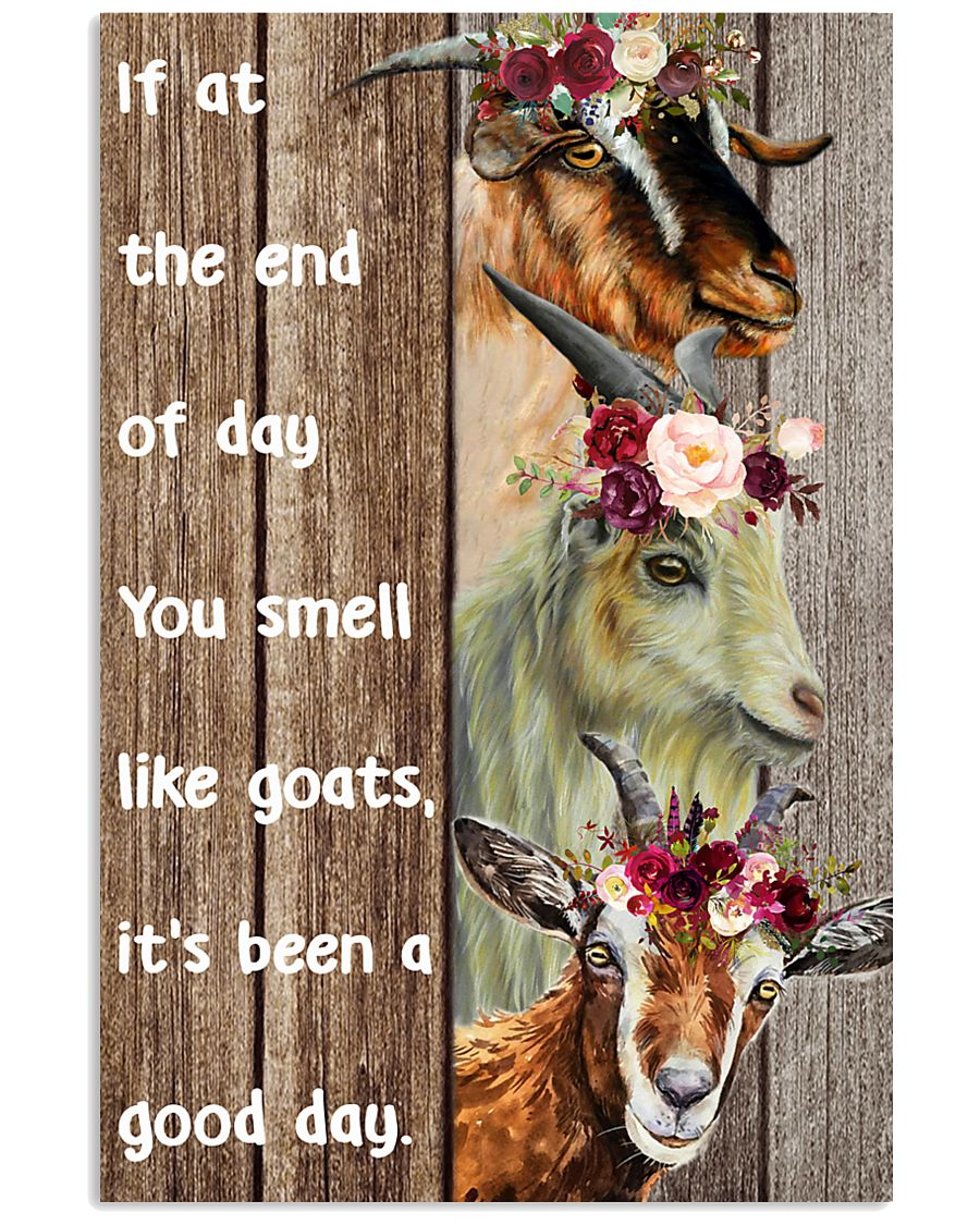 smell like goats 24x36 Poster