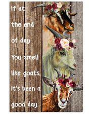 smell like goats 24x36 Poster front
