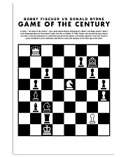 Chess Game 24x36 Poster front