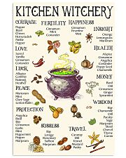 kitchen witchery 24x36 Poster front