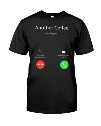 Another coffee calling