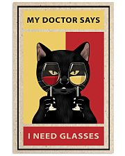 Cat Need Glasses 24x36 Poster front