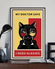 Cat Need Glasses 24x36 Poster lifestyle-poster-2