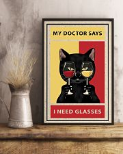 Cat Need Glasses 24x36 Poster lifestyle-poster-3