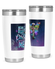 I can do all thing tumbler 20oz Tumbler front