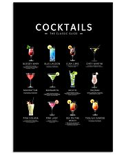 cocktails poster 24x36 Poster front