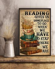 Reading Book and Tea 24x36 Poster lifestyle-poster-3