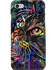Colorful Cat Phone Case i-phone-8-case