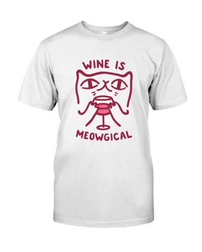 cat and wine