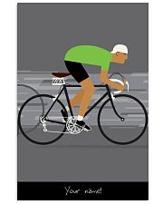 greenbike medium 24x36 Poster front