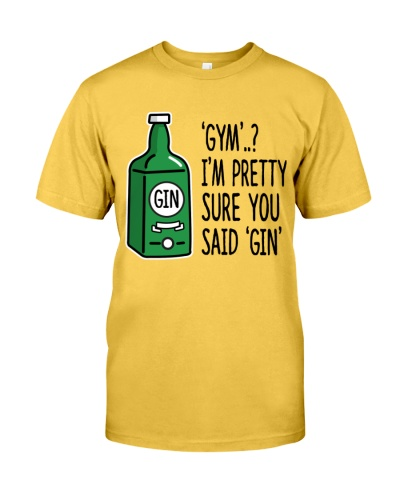 gym gin