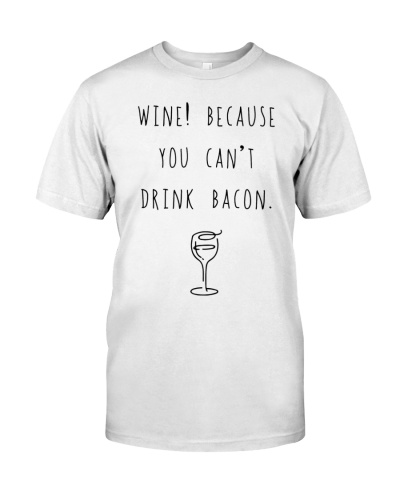 wine bacon