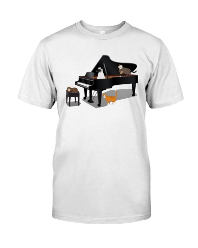 piano cats