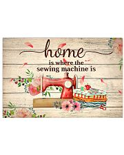 sewing machine poster 17x11 Poster front