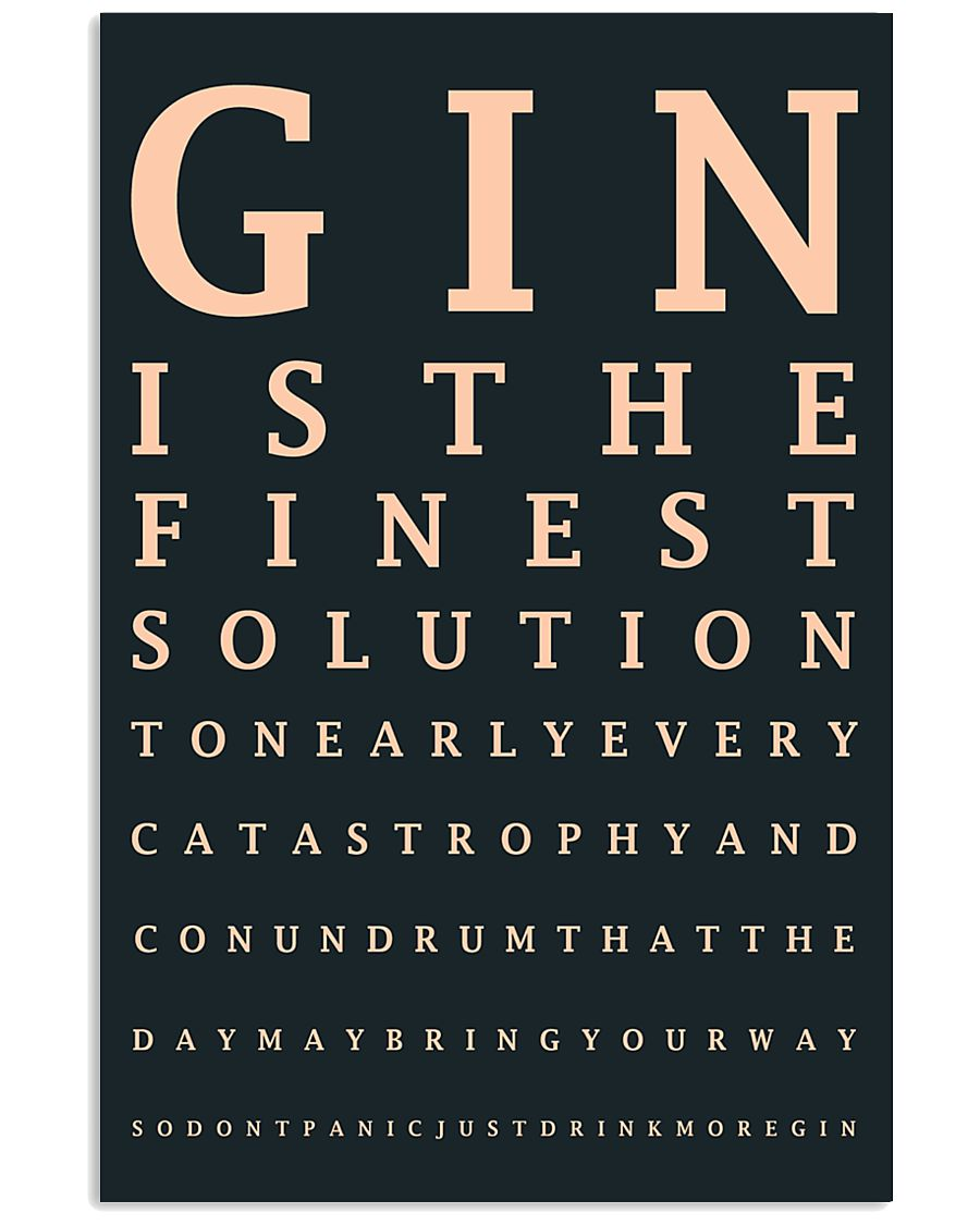 Gin poster 24x36 Poster