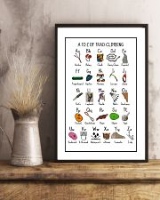 Trad Climbing 24x36 Poster lifestyle-poster-3