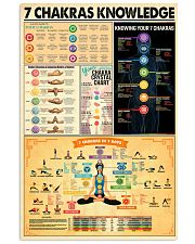 Chakras poster 24x36 Poster front