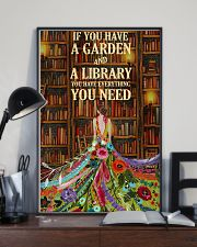 Girl Love Library 24x36 Poster lifestyle-poster-2