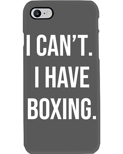 have boxing