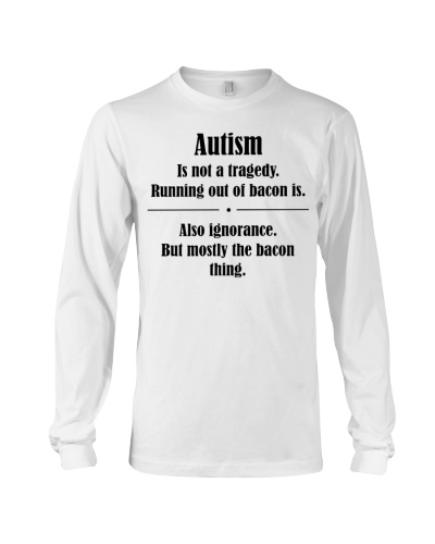 Autism not tragedy